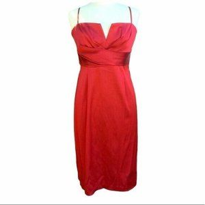 Donna Ricco cocktail dress size 8 Cherry Red